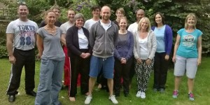 Group photo of the Tai Chi afternoon