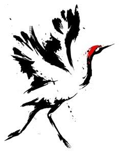 White Crane_Bird only