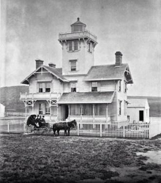Point Fermin Lighthouse way back!