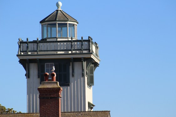 Point Fermin Lighthouse next to our 5th hang