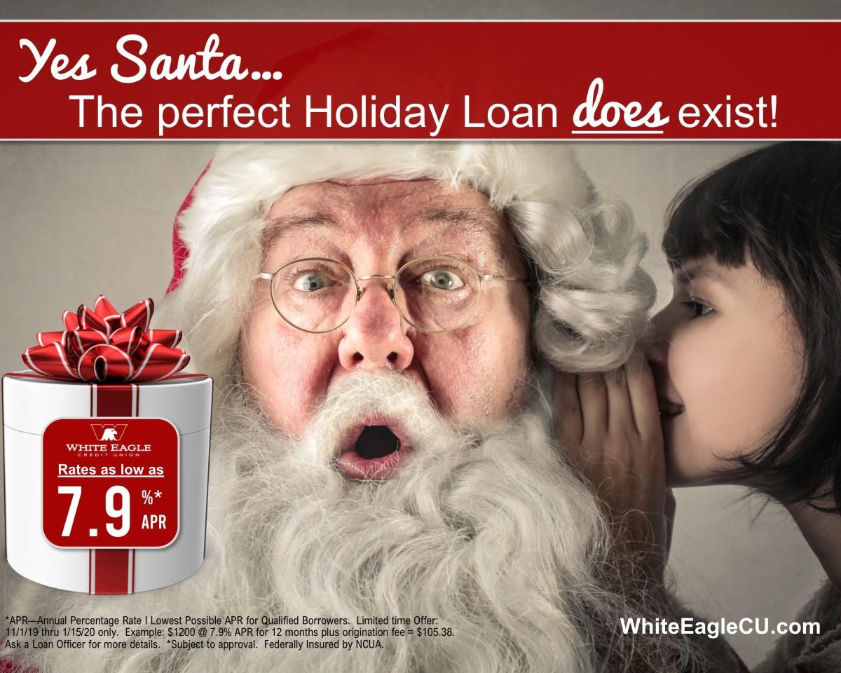 Santa Holiday Loan 2019