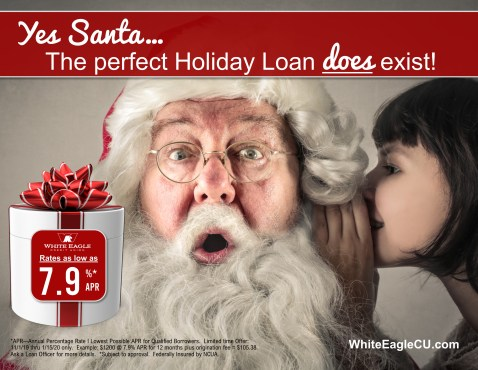 Santa Holiday Loan 2019