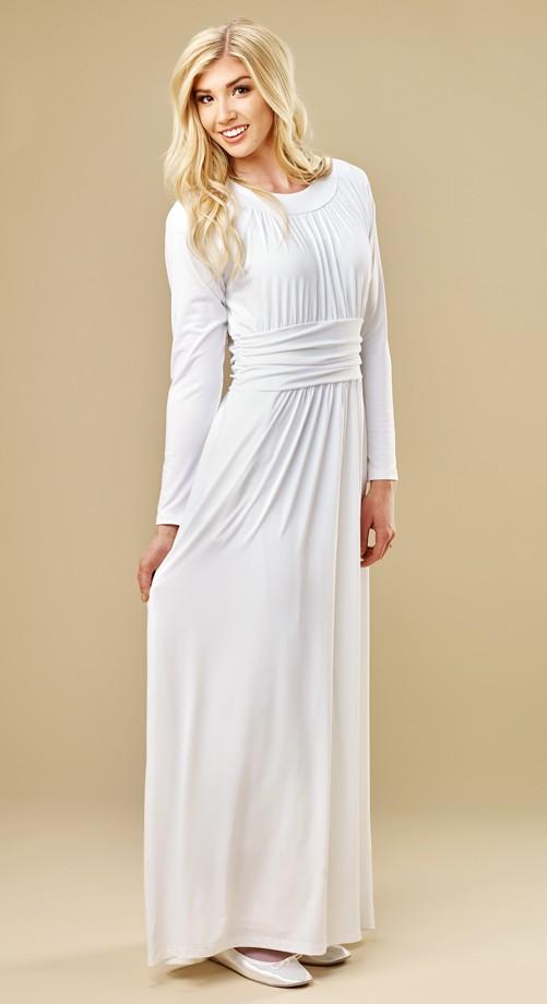 d8d414b465 White Temple Dresses Elegance