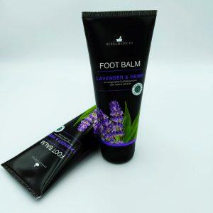 Бальзам для ног Herbamedicus 100мл Lavender&Hemp