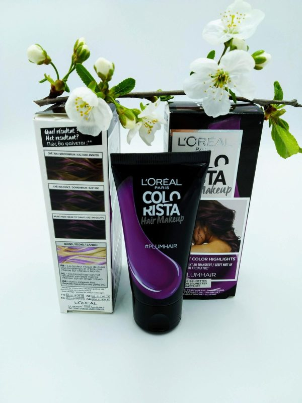 Краска крем для волос L'Oreal Hair Make-Up Colorista 30мл слива