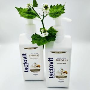 Молочко для тела Lactovit 250мл Surgras для сухой кожи с дозатором