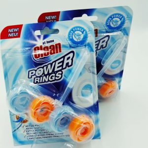 Туалетный блок At Home Clean Power Rings 40g Aqua Power