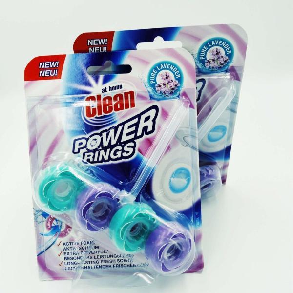 Туалетный блок At Home Clean Power Rings 40g Pure Lavender