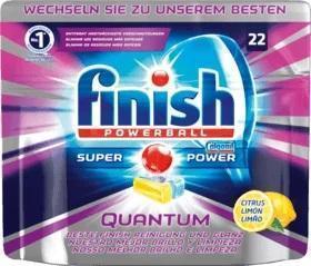 Таблетки для посудомоечной машины 22шт Finish Quantum Lemon
