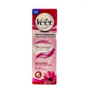 Крем для удаления волос Veet 90 мл Silk&Fresh Supreme Essence
