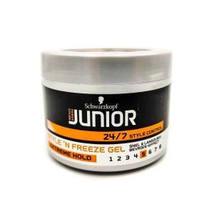 Гель для волос Schwarzkopf Junior 200 мл Style 'n Freeze Extreme Hold 5
