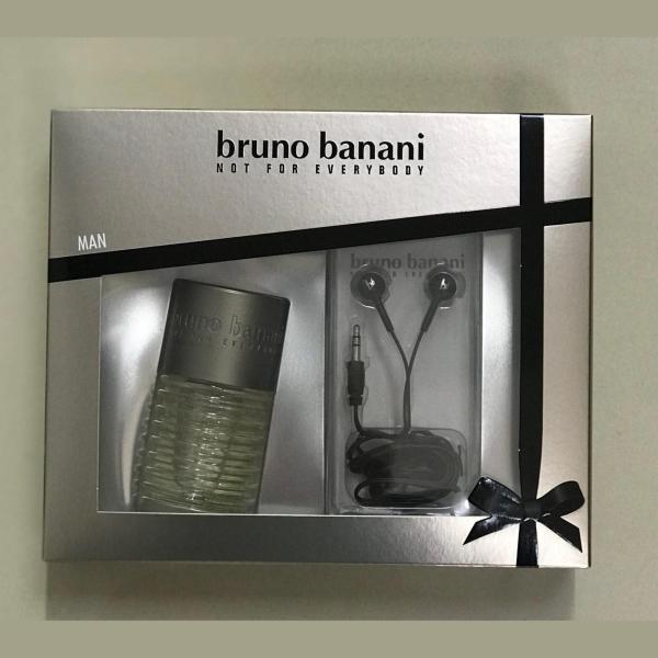 Подарочный набор Bruno Banani (туалетная вода 50мл+ наушники)