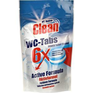 Таблетки для унитаза 6шт At Home Clean