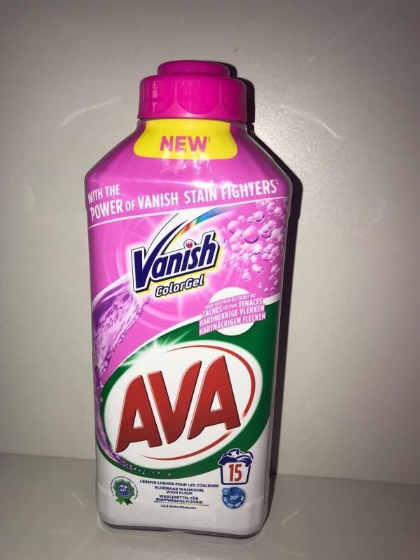 Гель для стирки Vanish Ava 750 мл Color 15sc