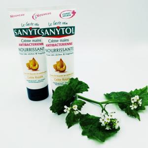 Крем для рук Sanytol 75 мл Антибактериальный Hydratante увлажняющий