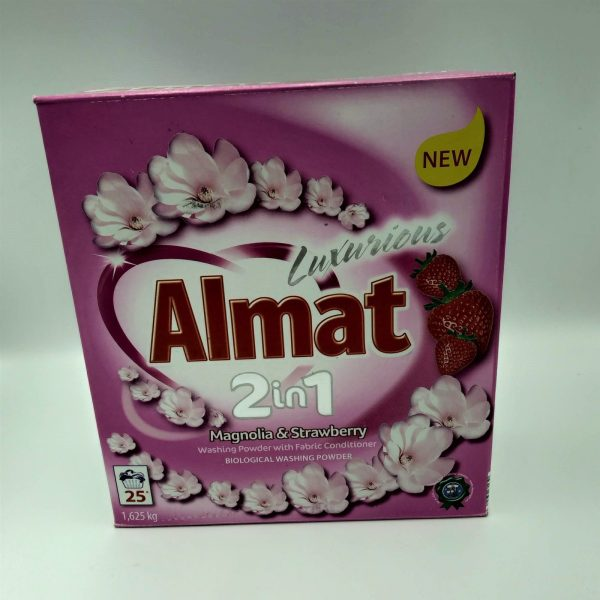 Порошок для стирки Almat 2in1 Bergamot&Blue Lily/Magnolia&Strawberry 1,625кг