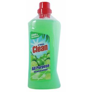 Очиститель унив. 1л. At Home Clean Lime&Eucalyptus