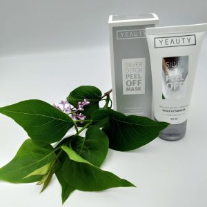 Маска для лица Yeauty 50мл Silver Detox для всех типов кожи