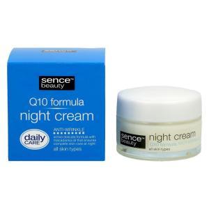 Крем ночной 50мл Sencebeauty All Skin Q10