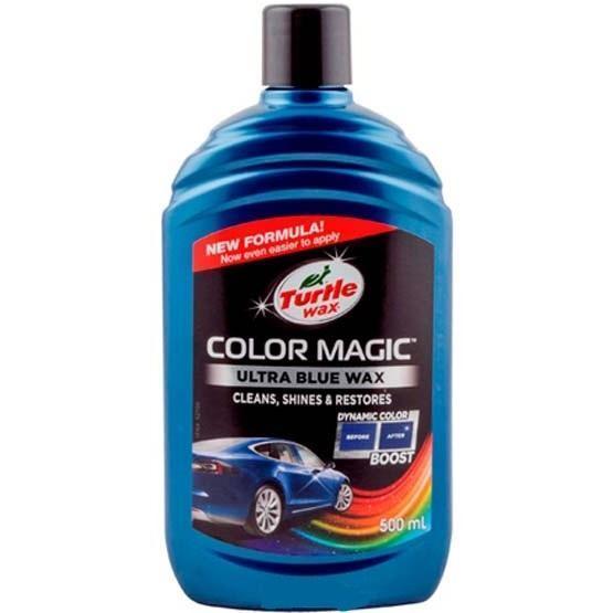Полироль (воск) для автомобиля Turtle 500 мл Color Magic Ultra Blue Wax