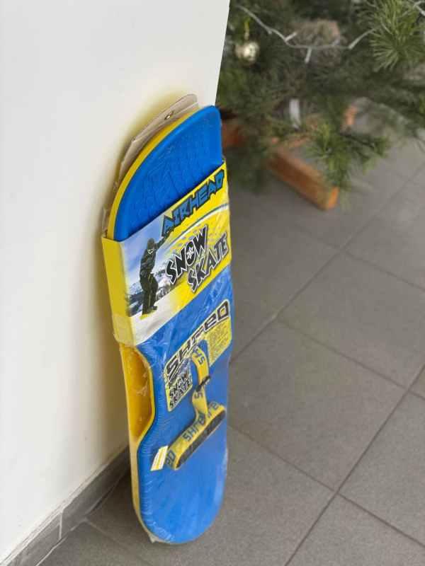 """Санки """"детский сноуборд с верёвкой"""""""
