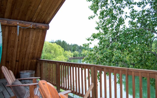 whitefish river retreat Whitefish River Retreat Pattons Balcony2