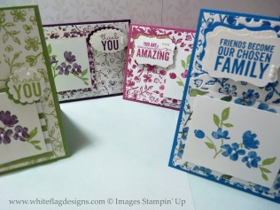Painted Blooms DSP Cards