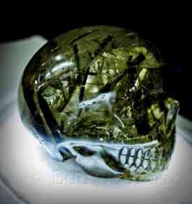 Crystal Seagrass Skull