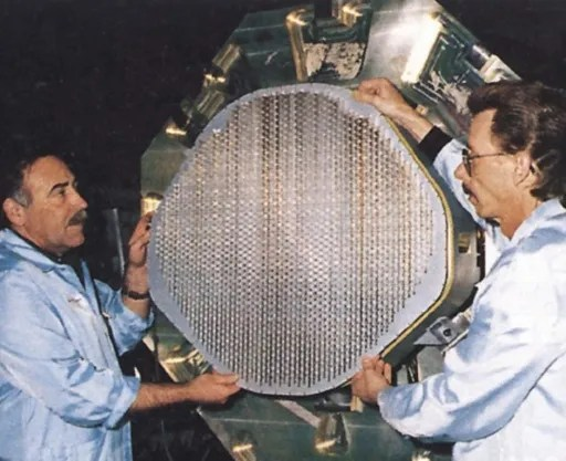 The groundbreaking APG-77 radar used on the F-22. While not the first AESA to be installed on a fighter aircraft, the APG-77 is a highly sophisticated radar.