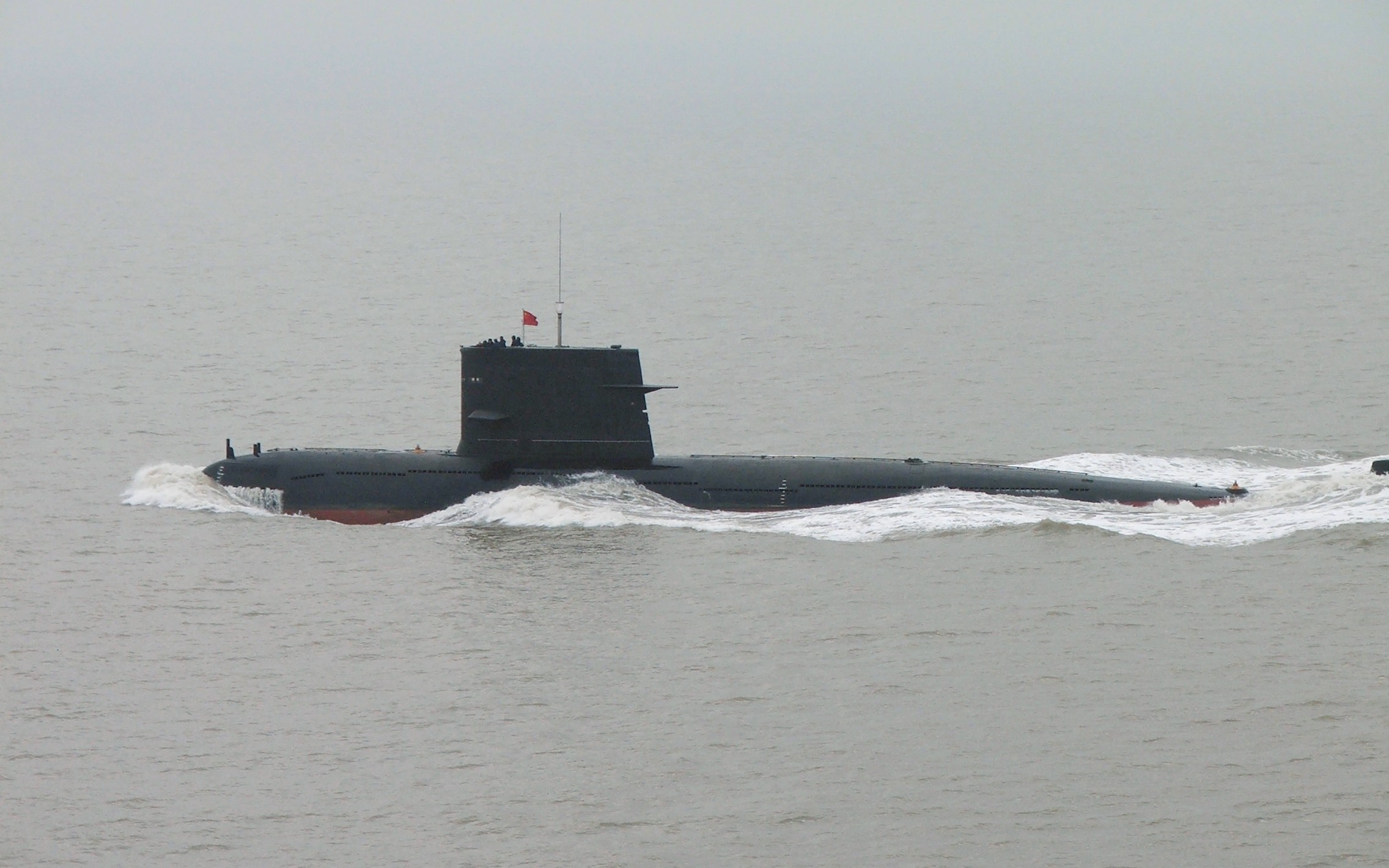 A Type 039 diesel-electric submarine of the PLAN. The newer Type 039A is based on the Type 039.