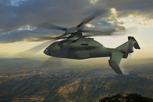 An artist's impression of the SB-1 Defiant. Copyright Sikorsky.