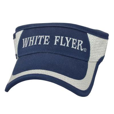 caps and visors white