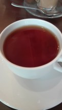 First tea of the trip,much needed.