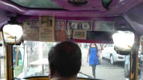goldfish in a rickshaw :(
