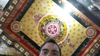 Inside massive Buddha temple!