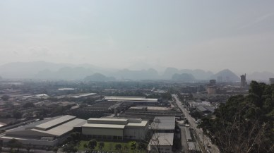 View of Ipoh from Sam Poh Tong Temple