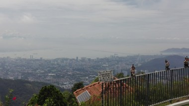Penang Hill - view of George Town