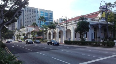 The famous Raffles Hotel
