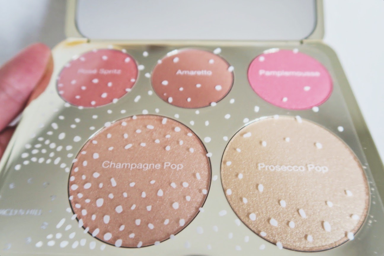 becca cosmetics cheek palette highlight blush makeup