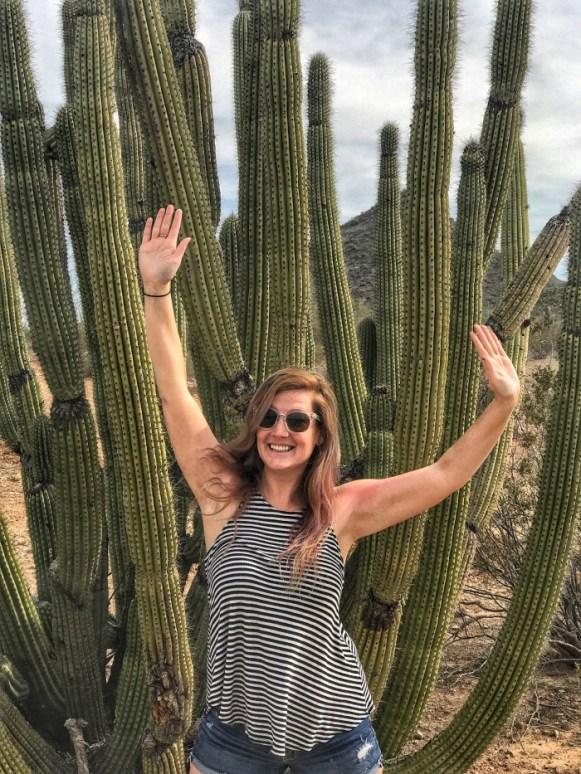 Look! I'm a cactus!