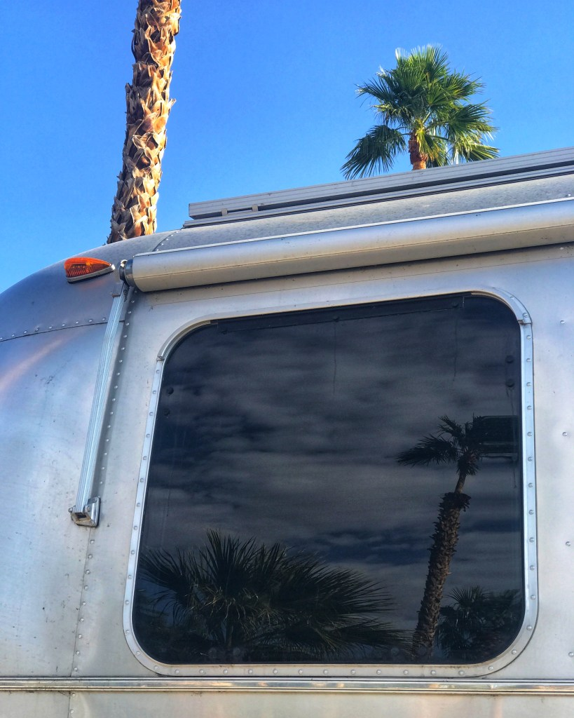 Airstream and Sunsets