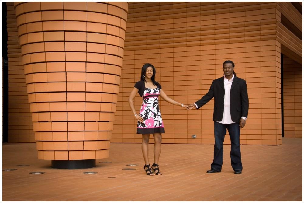 Kandi + Mario = Romantic Uptown Engagement Session (1/6)