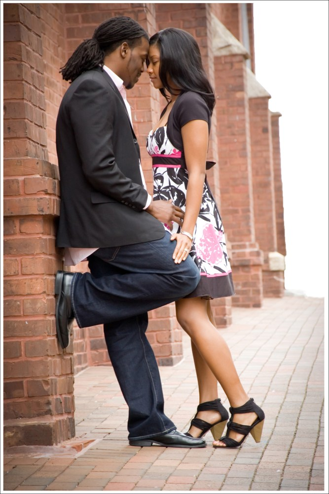 Kandi + Mario = Romantic Uptown Engagement Session (3/6)