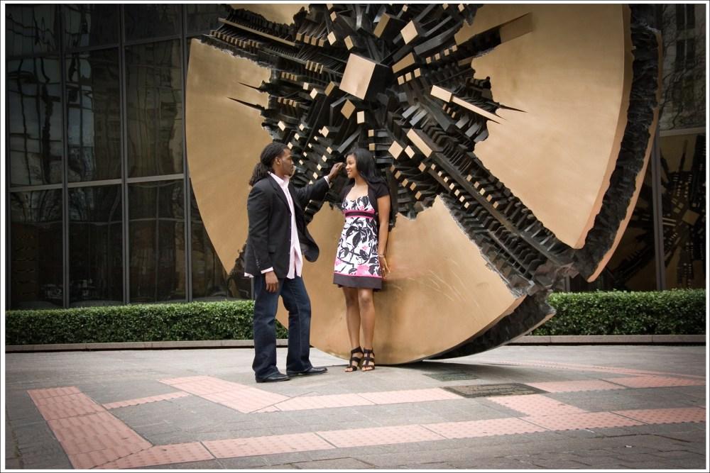 Kandi + Mario = Romantic Uptown Engagement Session (6/6)