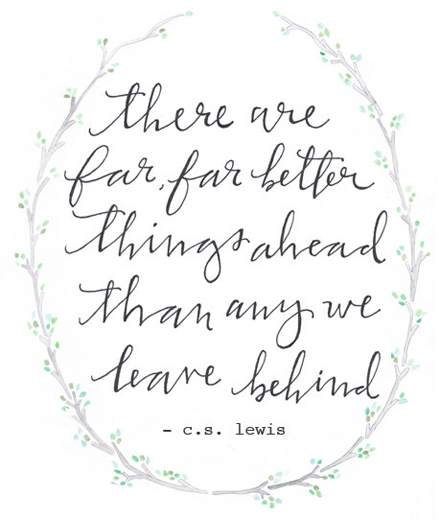 CS Lewis Better Things Ahead