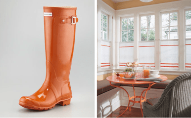 Org boots & breakfast nook