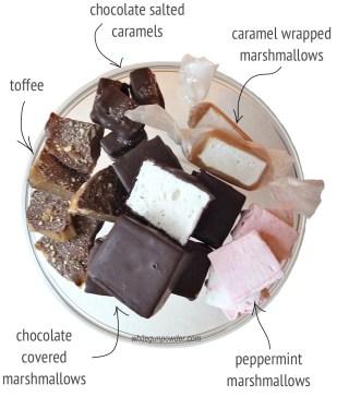 Sweets marsh, caramel, choc -5