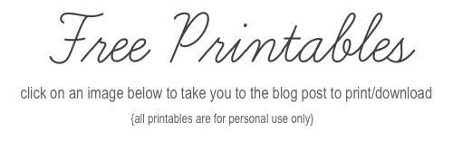 Free Printables, heading Main-3