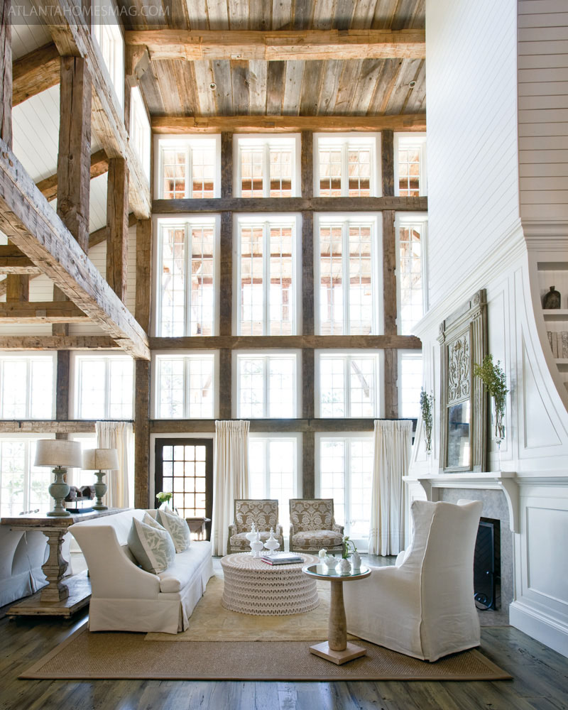 Designed By Tracery Interiors, With Sumblin Schnell As The Principal  Designer And Assistant Anna Kay Porch. The Home Combined Rustic, ...
