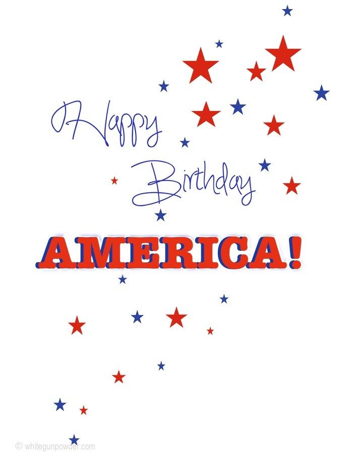 July 4th, happy birthday America